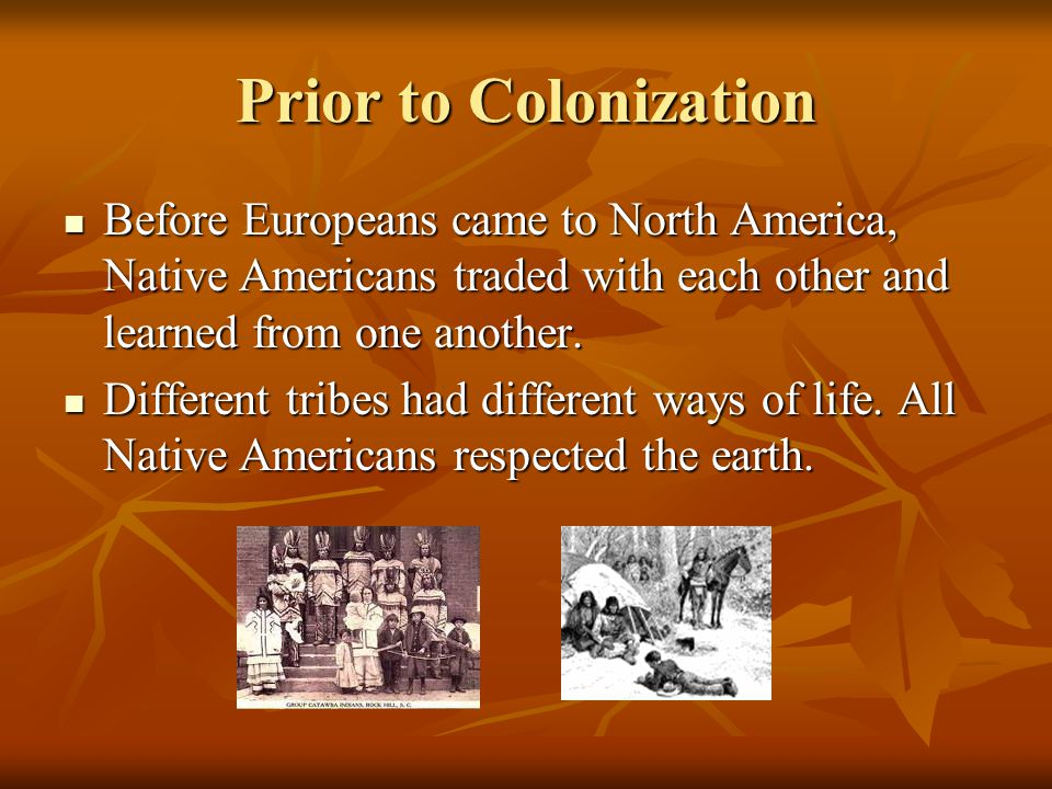 native americans and colonization essay Colonization and settlement (1585–1763) english, french, and spanish colonies: a comparison on native americans for trade and for.