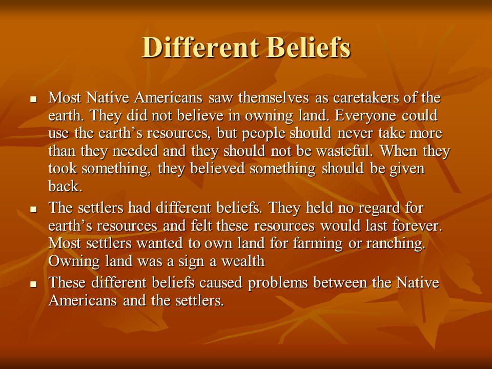 Different Beliefs