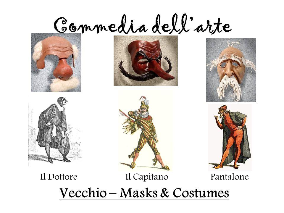 Vecchio – Masks & Costumes