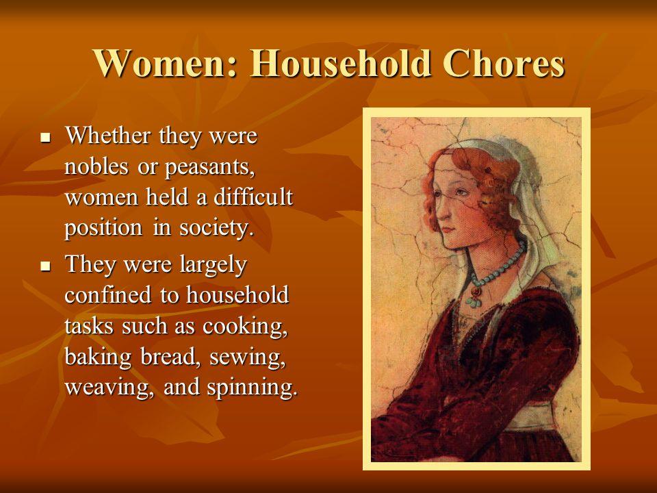Women: Household Chores