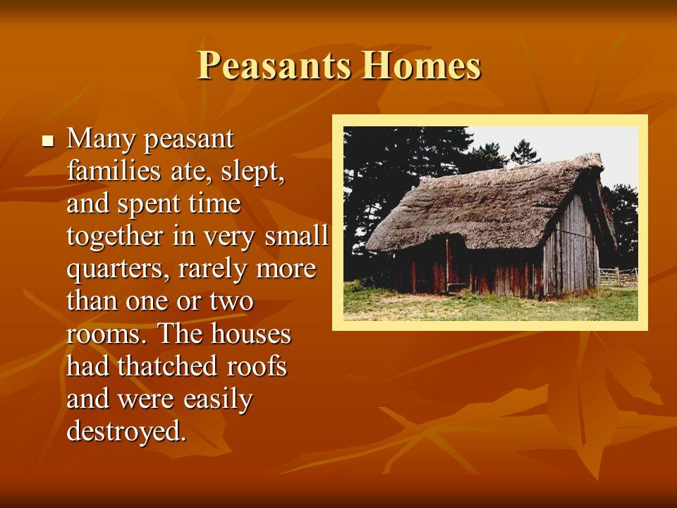 Peasants Homes