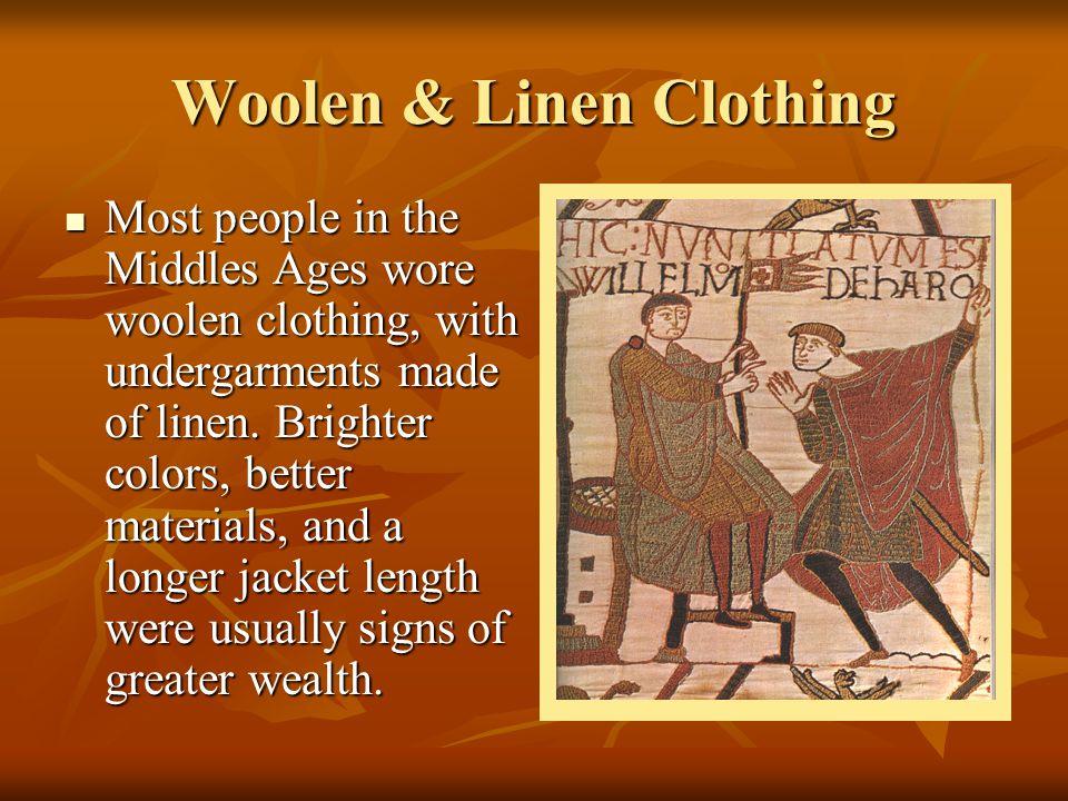 Woolen & Linen Clothing