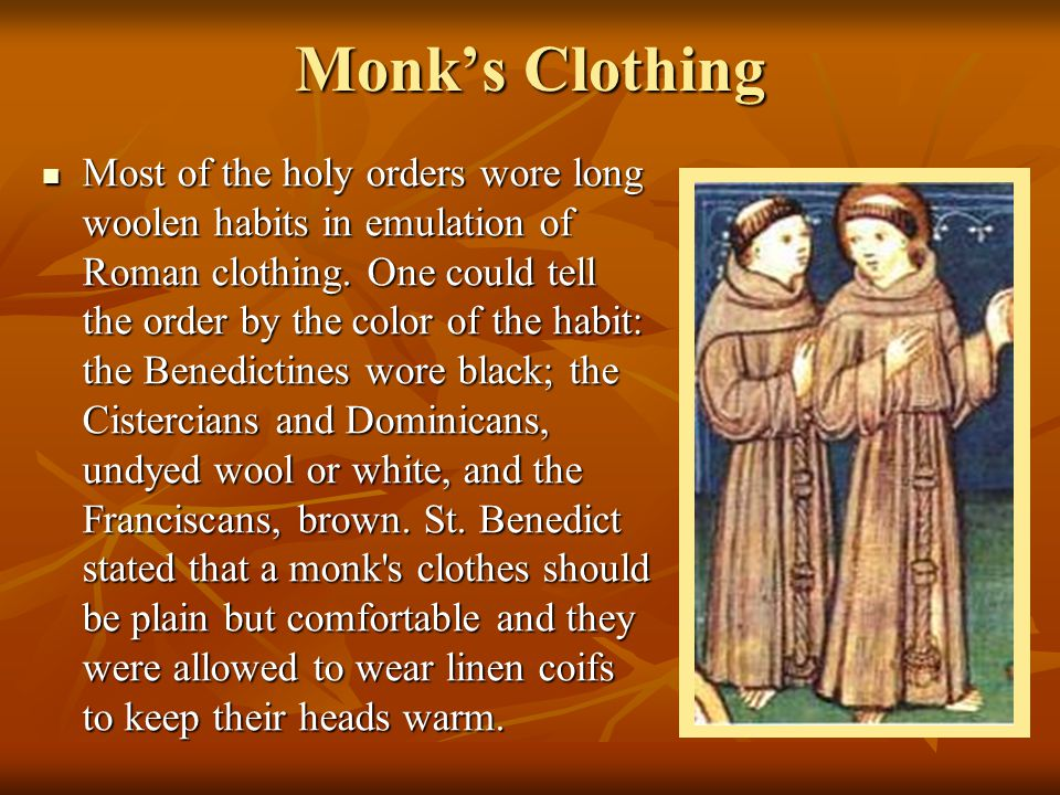 Monk's Clothing