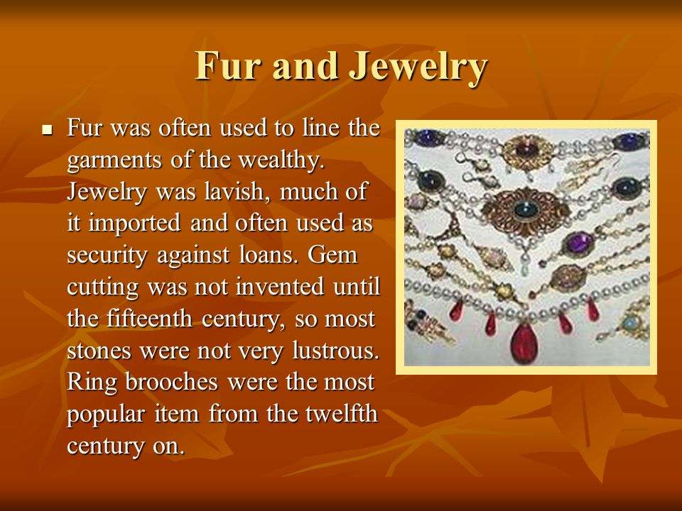 Fur and Jewelry