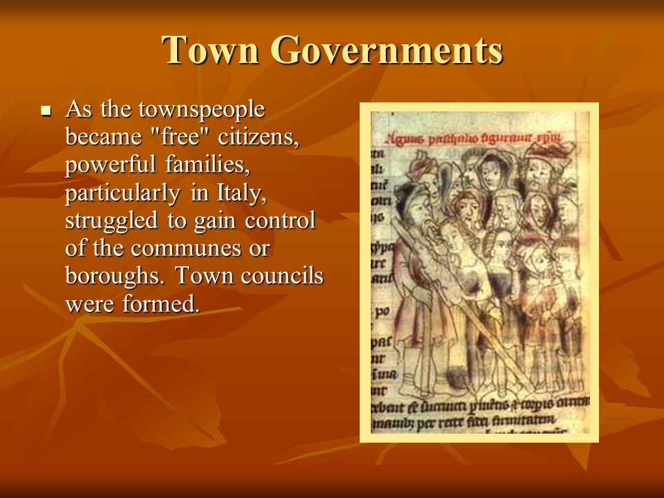 Town Governments