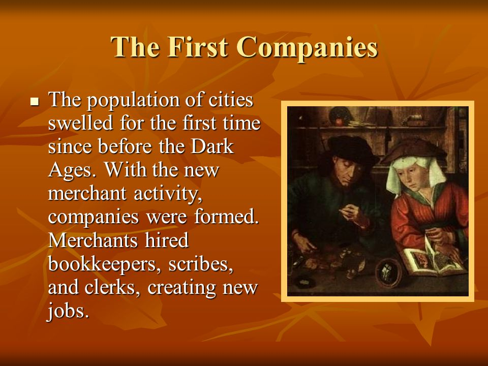 The First Companies
