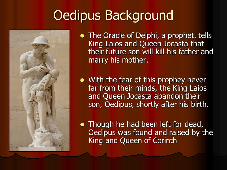 Oedipus Background