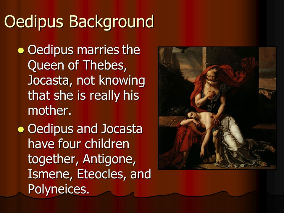 jocasta queen of thebes Oedipus the king oedipus king of thebes character list jocasta queen of thebes, wife of oedipus.