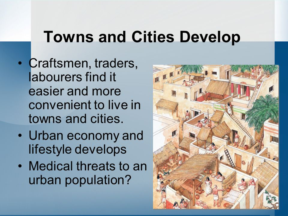 Towns and Cities Develop