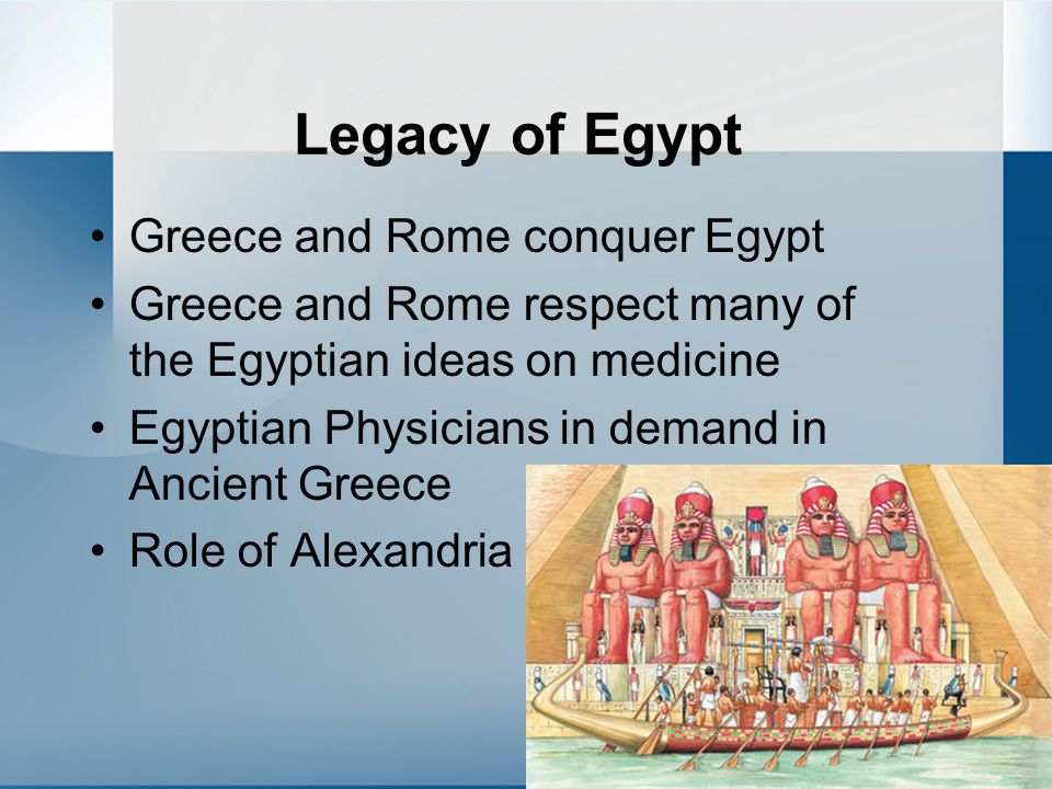 Legacy of Egypt Greece and Rome conquer Egypt