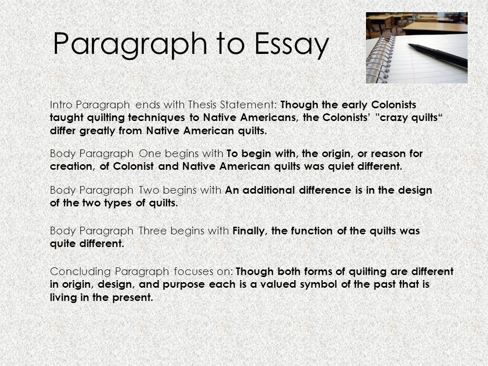 American essay