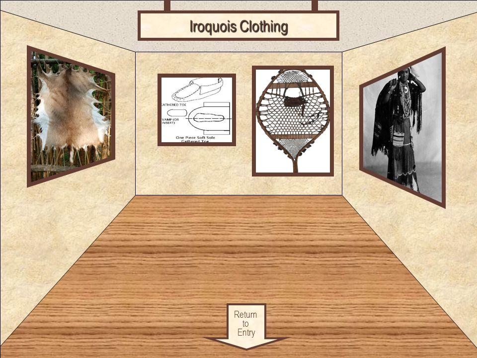 Iroquois Clothing Clothing Return to Entry