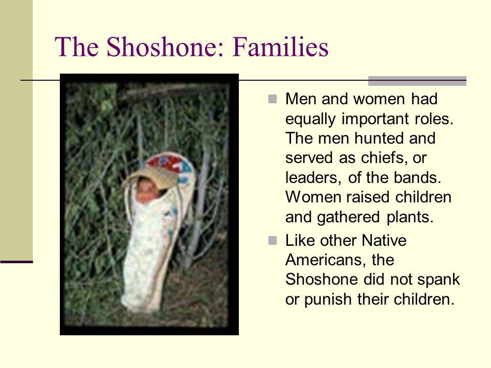 The Shoshone: Families