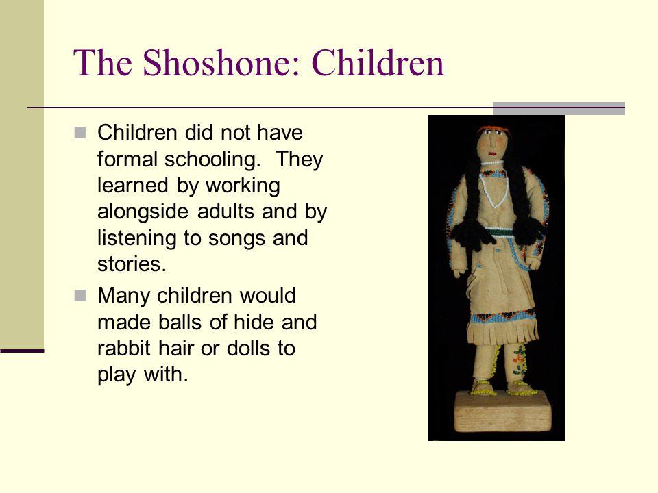 The Shoshone: Children