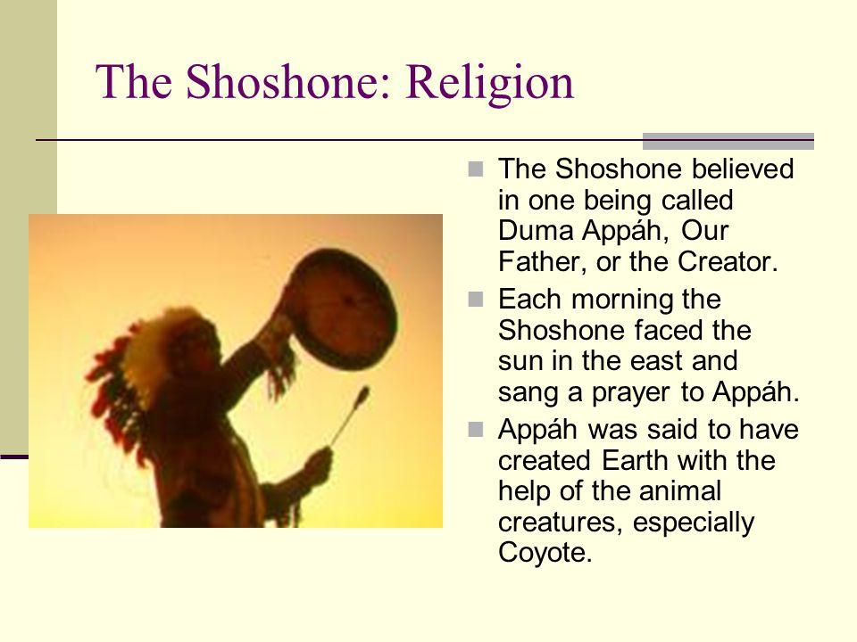 The Shoshone: Religion