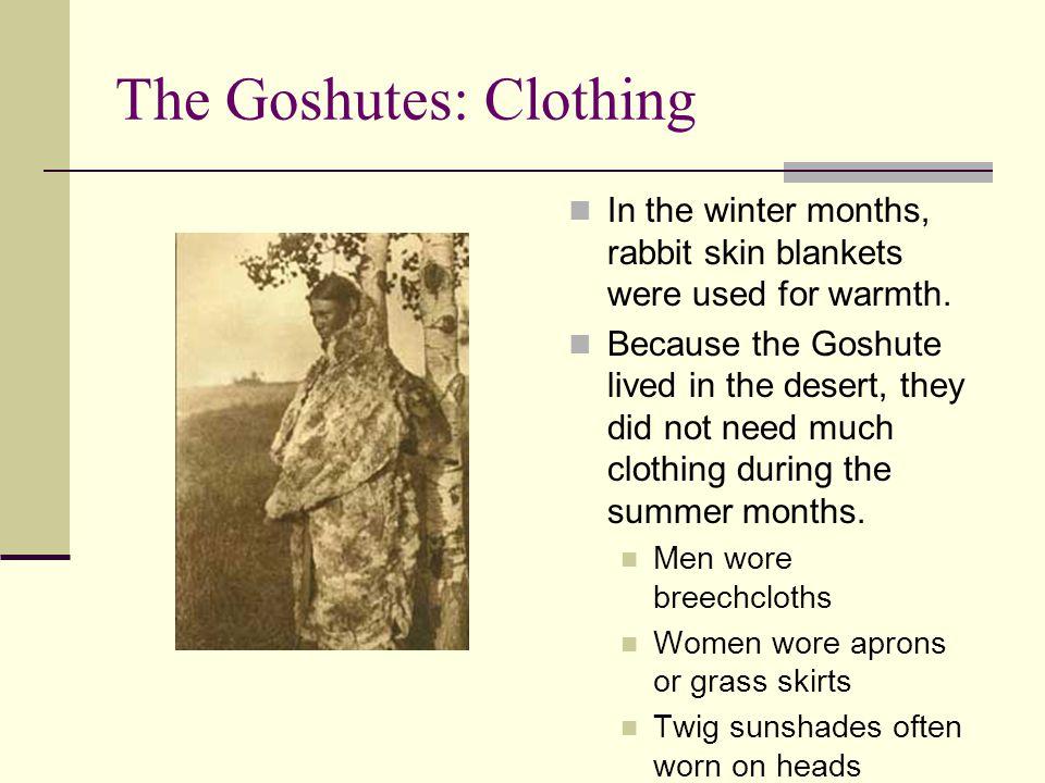 The Goshutes: Clothing