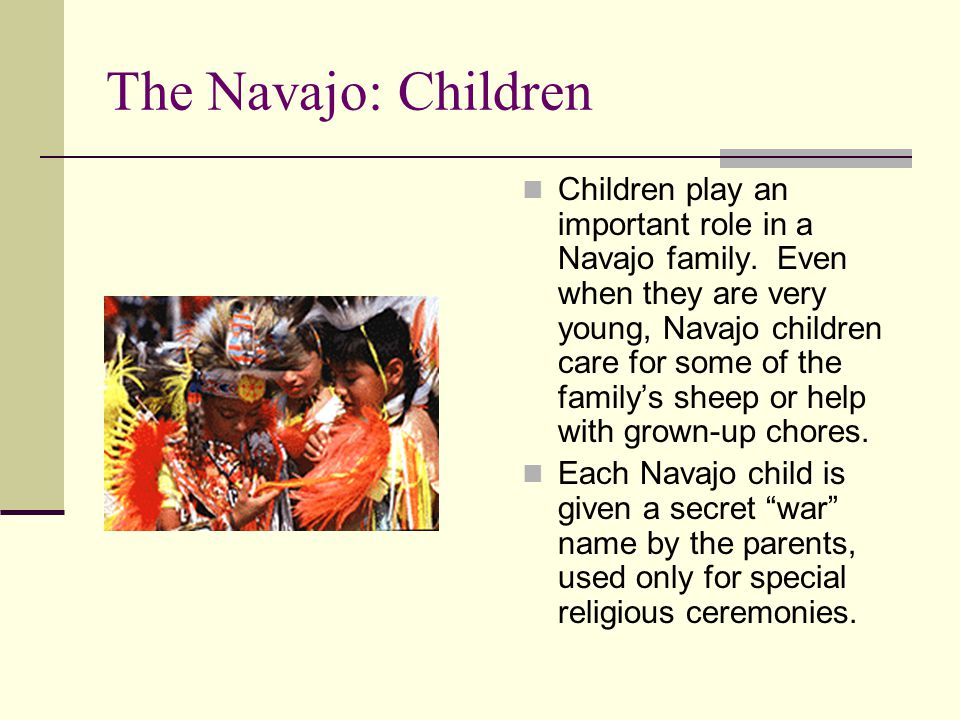 The Navajo: Children