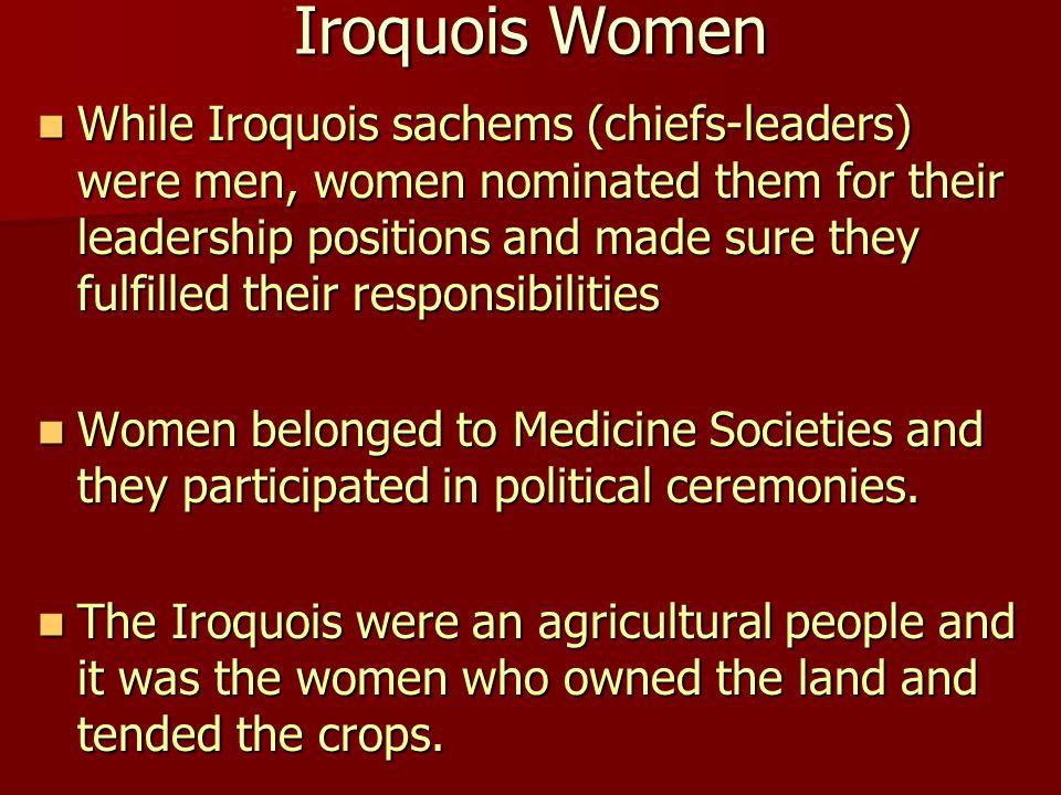 Iroquois Women
