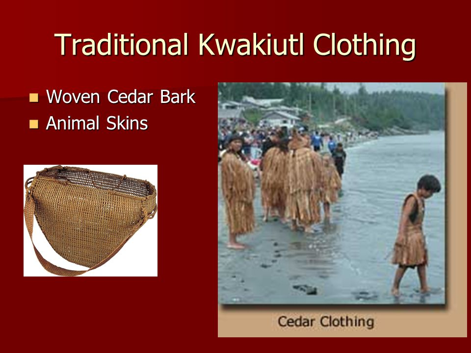 Traditional Kwakiutl Clothing