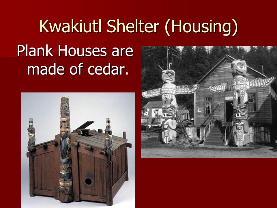 Kwakiutl Shelter (Housing)