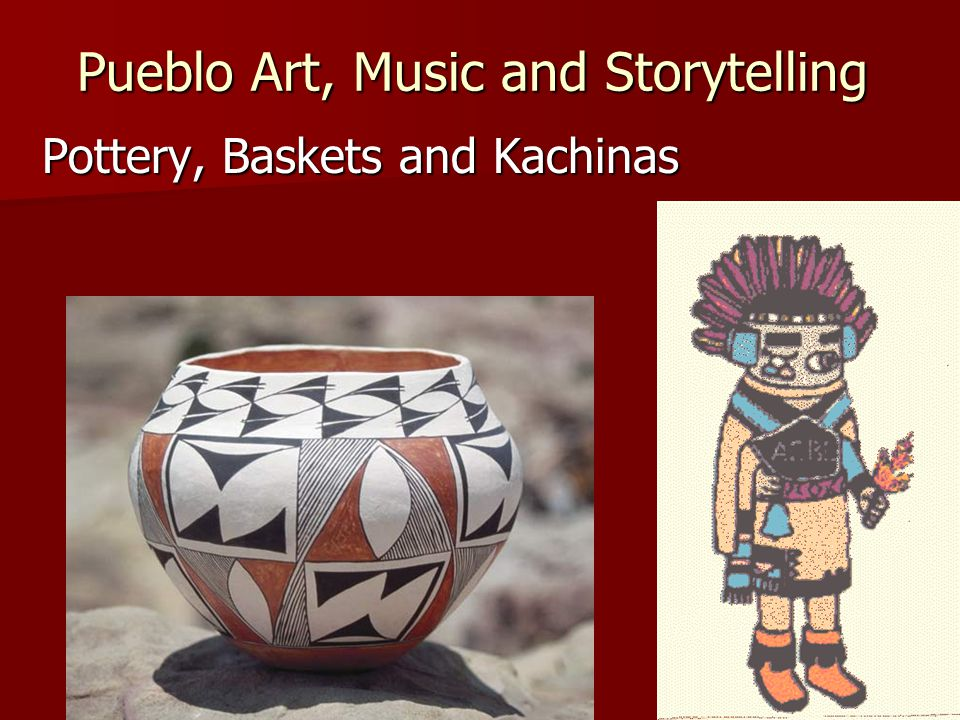 Pueblo Art, Music and Storytelling