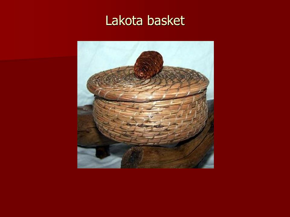 Lakota basket