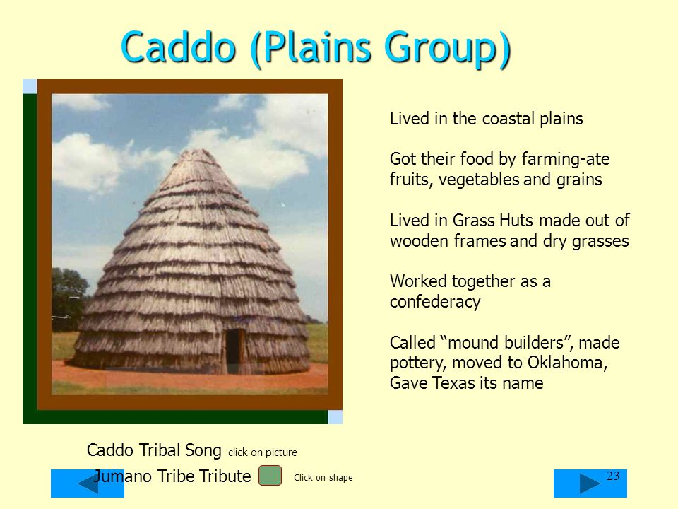 Caddo Tribal Song click on picture