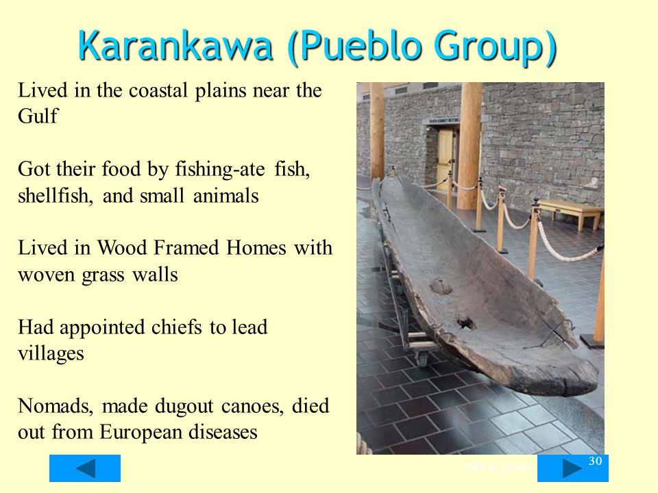 Karankawa (Pueblo Group)