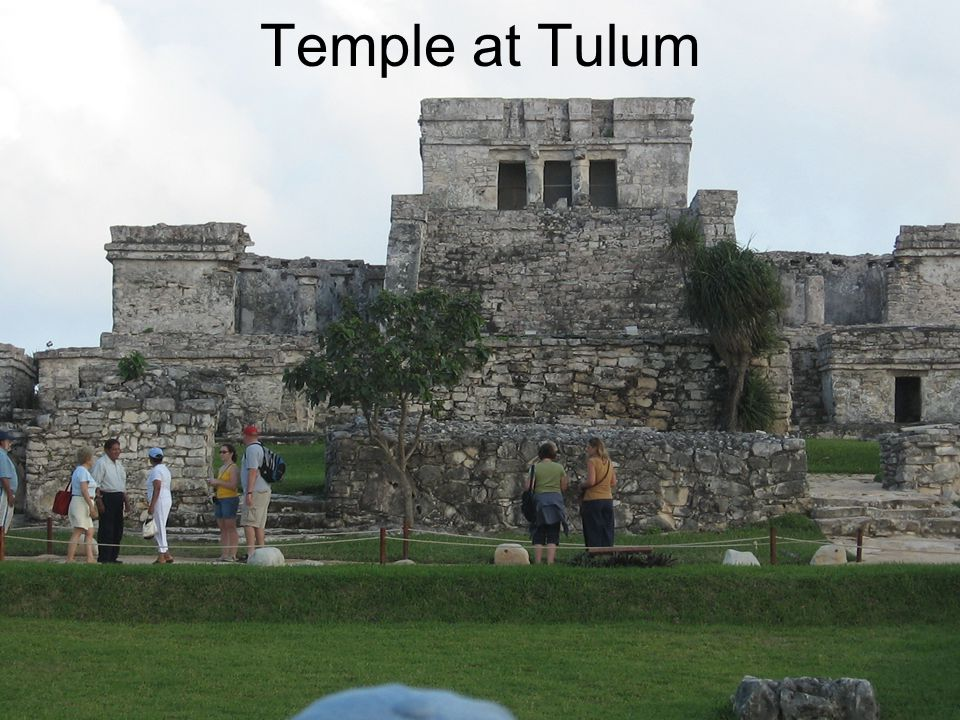 Temple at Tulum