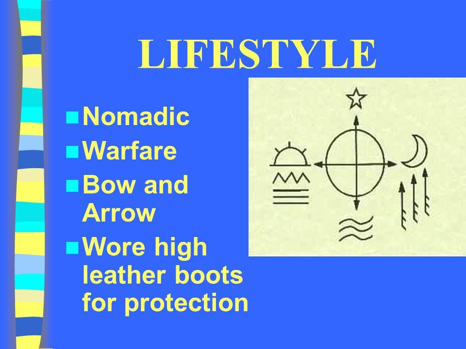 LIFESTYLE Nomadic Warfare Bow and Arrow