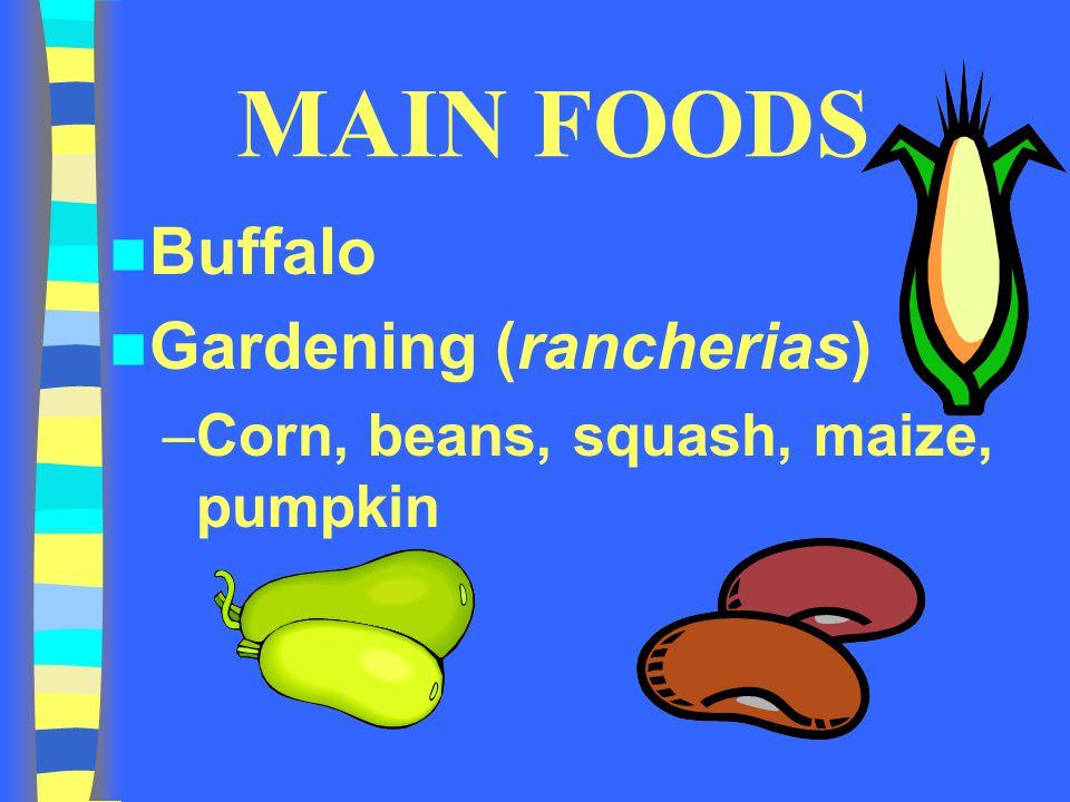 MAIN FOODS Buffalo Gardening (rancherias)