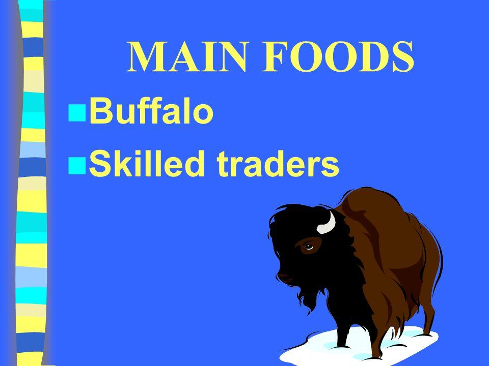 MAIN FOODS Buffalo Skilled traders