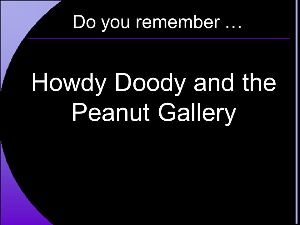 Howdy Doody and the Peanut Gallery