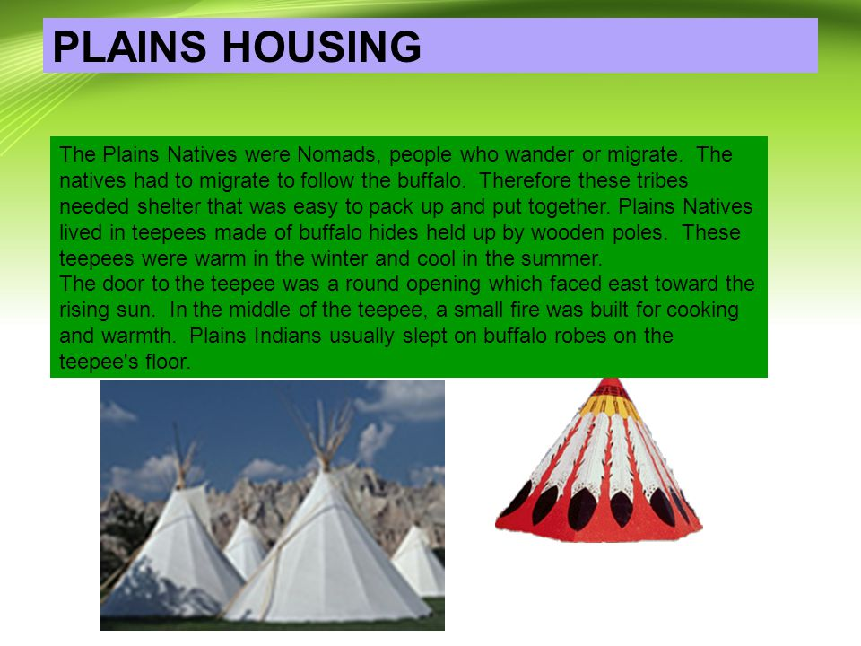 PLAINS HOUSING