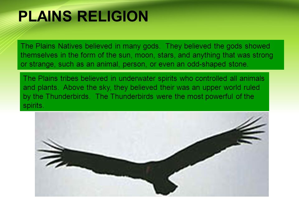 PLAINS RELIGION