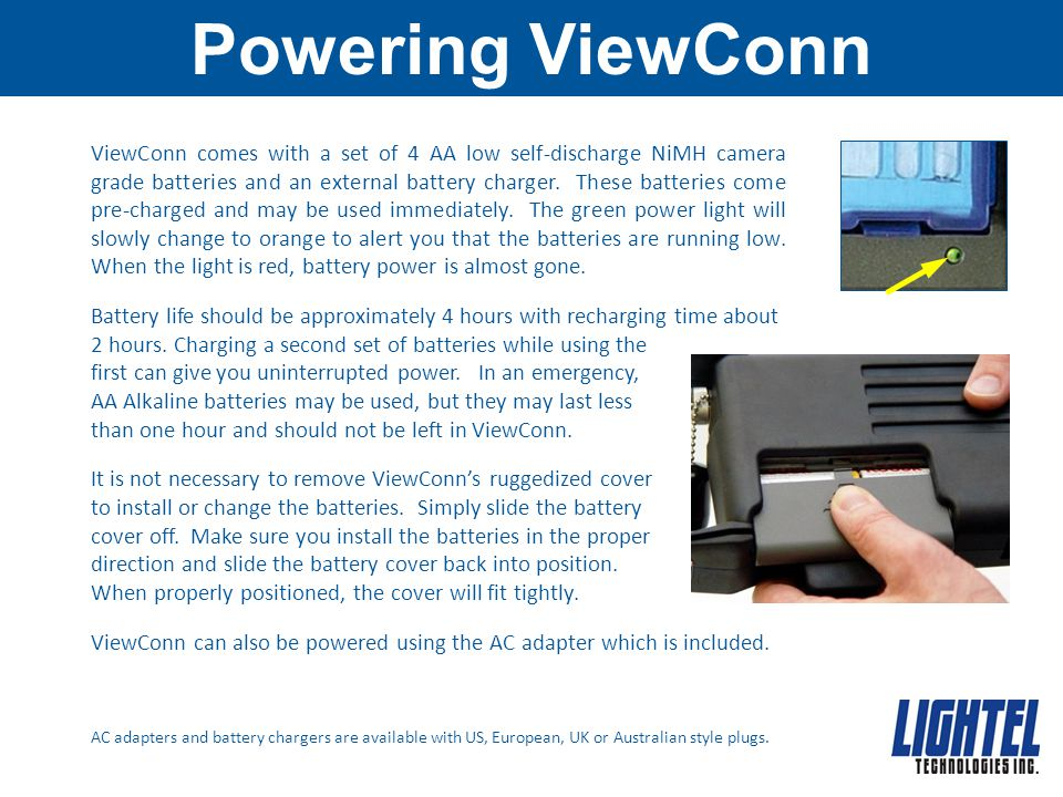 Powering ViewConn