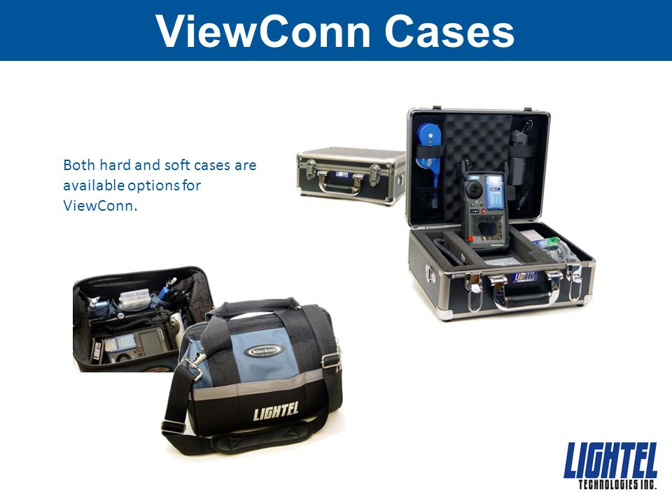 ViewConn Cases Both hard and soft cases are available options for ViewConn.