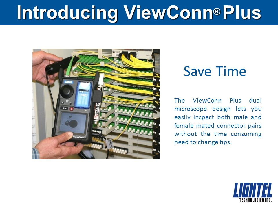 Introducing ViewConn® Plus