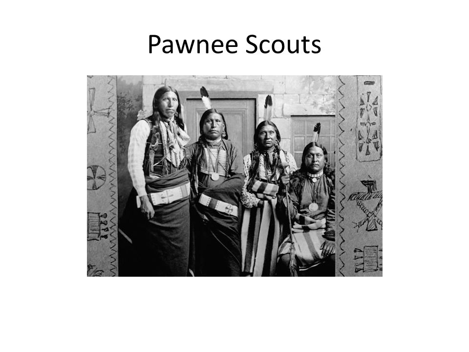 Pawnee Scouts