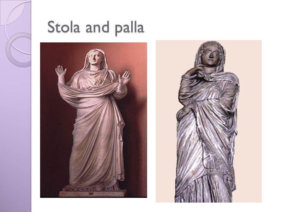 Stola and palla