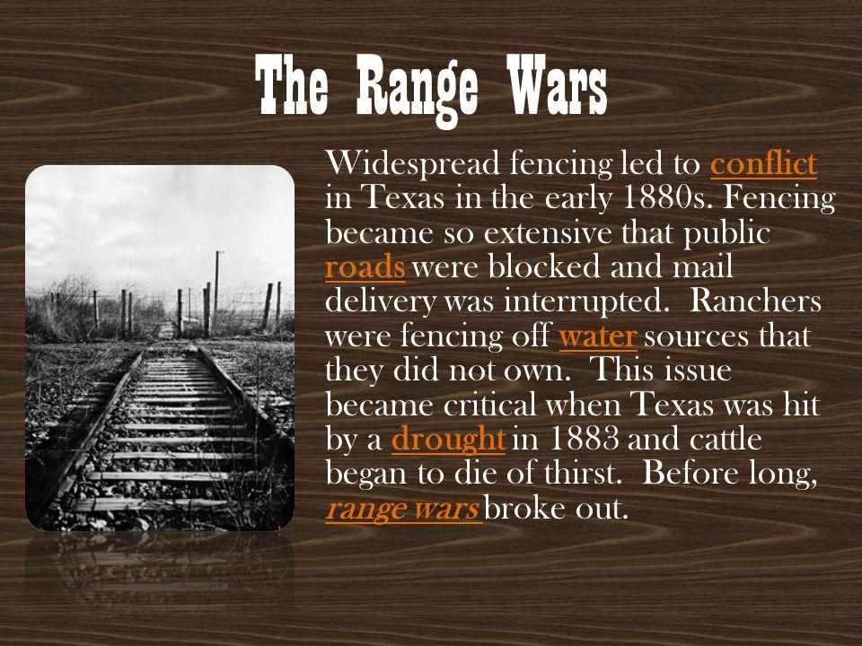 The Range Wars
