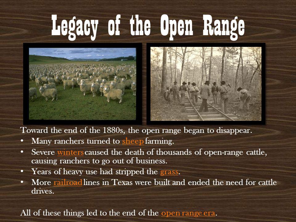 Legacy of the Open Range