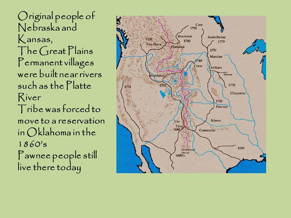 Original people of Nebraska and Kansas,
