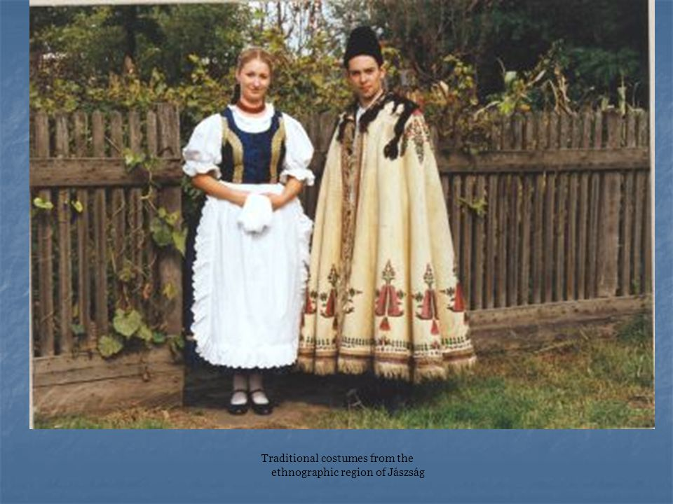 Traditional costumes from the ethnographic region of Jászság