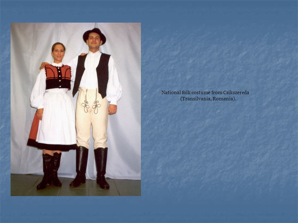 National folk costume from Csíkszereda