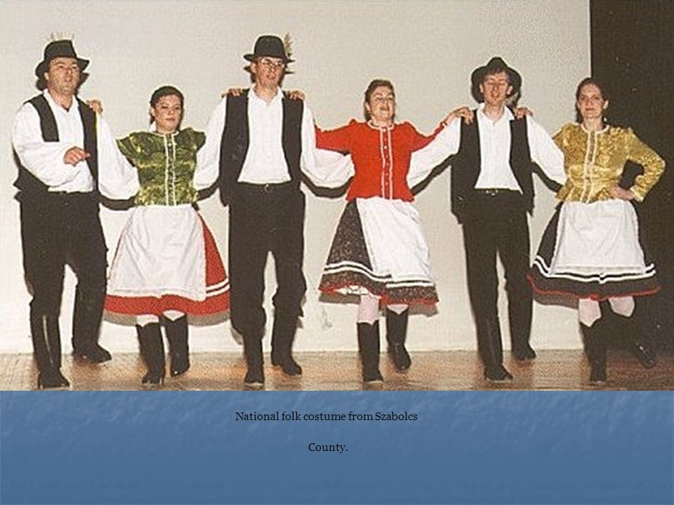 National folk costume from Szabolcs