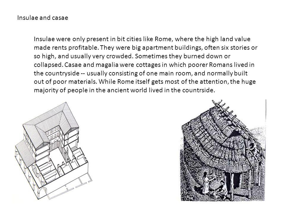 Insulae and casae