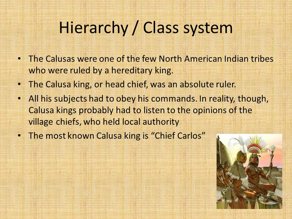 Hierarchy / Class system