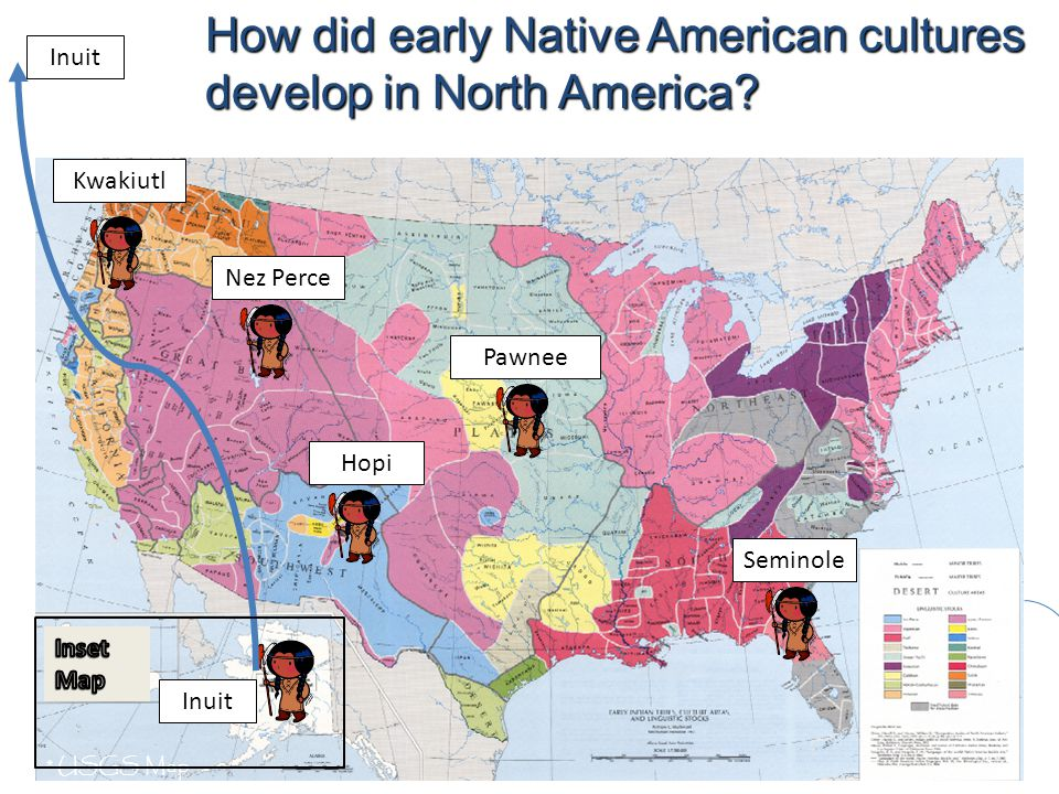 How did early Native American cultures develop in North America