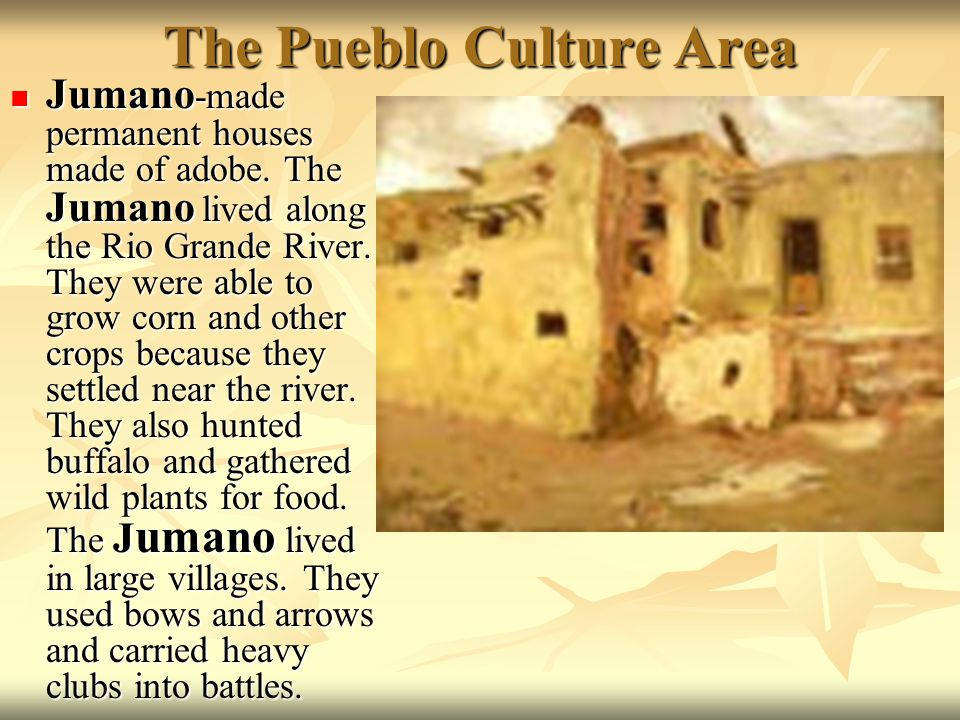 The Pueblo Culture Area
